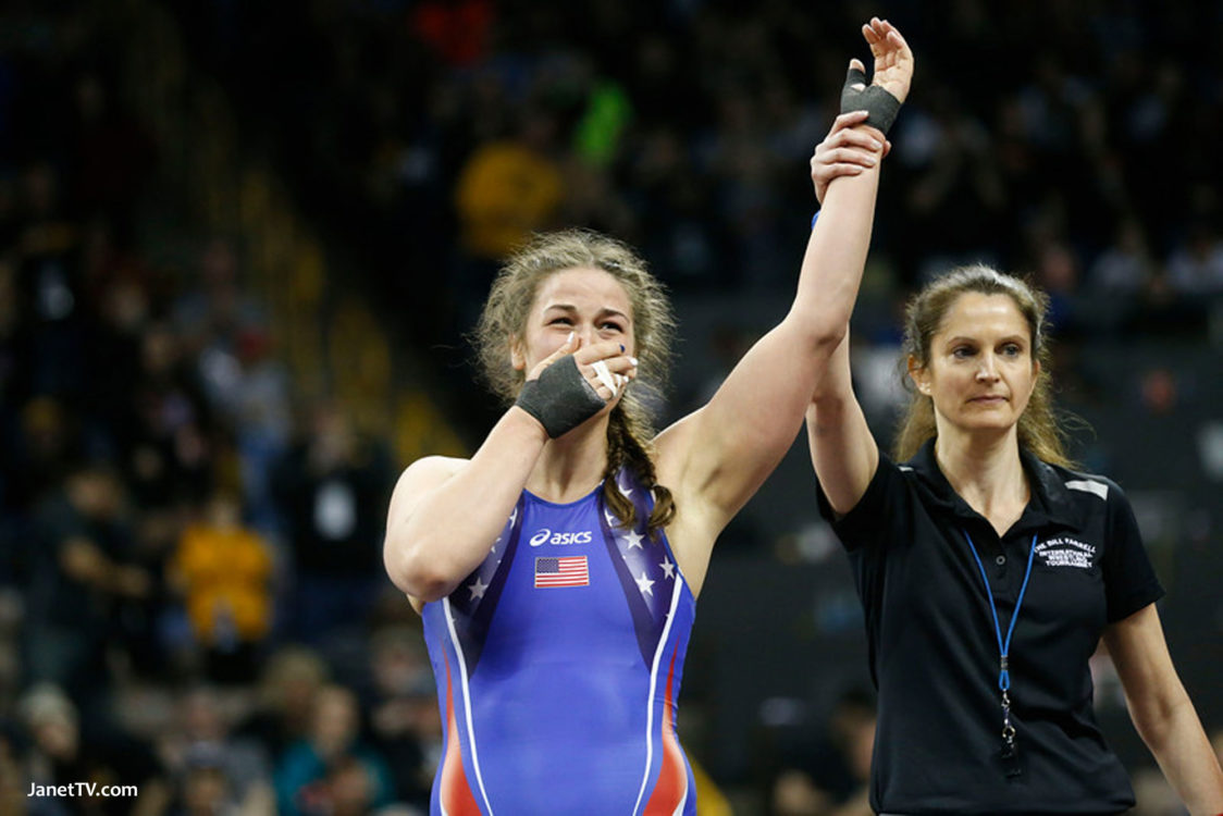01d9be08 World champion women wrestlers Adeline Gray and Helen Maroulis of the  United States will compete against talented Canadian opponents as part of  the 2016 ...