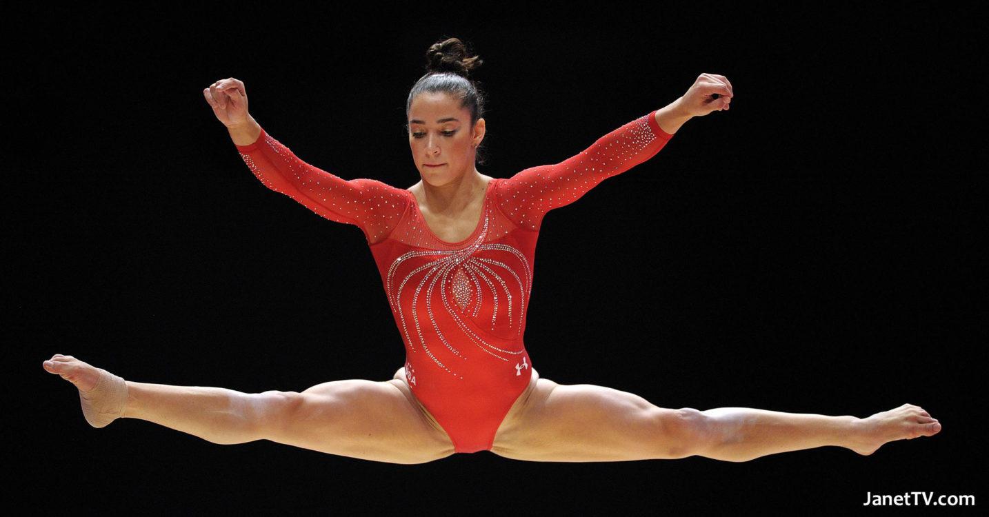 2012 Olympian Aly Raisman Wins All Around Title At Secret